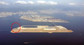 西緑地(人口海浜)